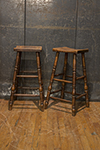 pair of english stools