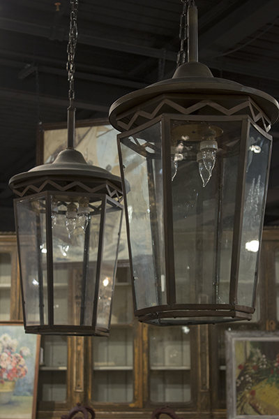 pair of italian lanterns