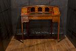edwardian satinwood carlton house writing desk