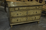 painted chest of drawer from austria