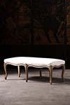 regency painted stool