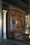 italian display cabinet with four doors