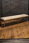 gilt swedish bench