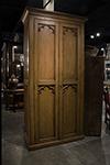 english gothic armoire