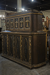 italian painted and gilt cabinet