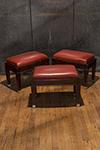 set of three english stools