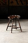 english shell stool