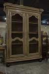 french bleached oak armoire