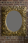 gilded french rococo mirror