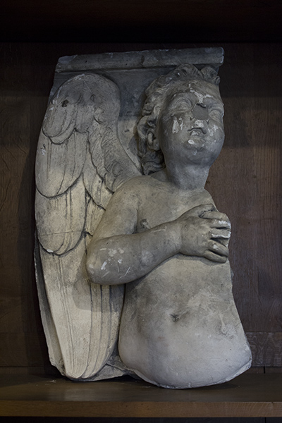 french angel corbel