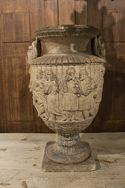 pottery urn from scotland by garnkirk