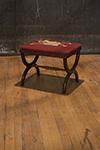 scottish simulated rosewood stool