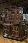flemish pearwood cabinet