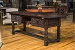 spanish walnut desk
