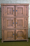 german pine chest on chest