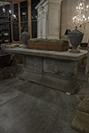 belgium stone table with stone base