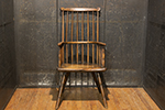 17th century english yorkshire oak & elm comb back armchair