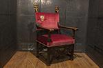 italian cardinal armchair