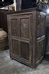 italian 17th century oak cupboard