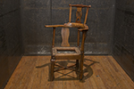english walnut corner chair