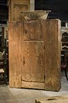 italian pine armoire