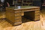 english mahogany partners desk