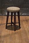 english mahogany stool