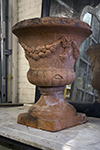english terracotta jardinere