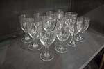 twelve french glasses