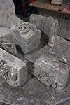 english stone fragments (6 pcs)
