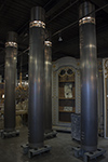 set of four flemish column lights