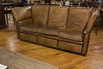 english knole leather sofa