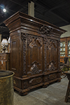 german walnut armoire