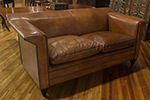 bart van bekhoven leather sofa