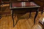 french ebonised writing table