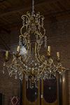 italian chandelier :6 arms
