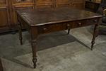english mahogany writing table