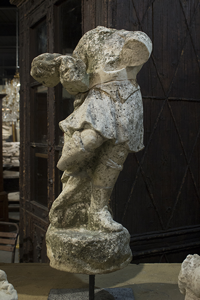 french stone figure