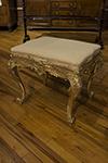 italian giltwood stool