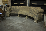 english stone bench from cornwall