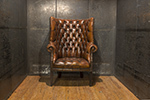 george ii wing back chair