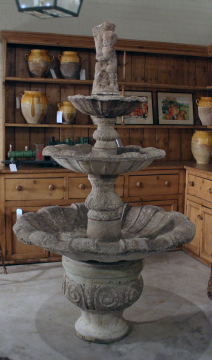 english three tier fountain