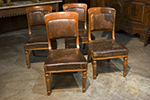 set of 4 itailian chairs