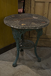 english iron terrazza table